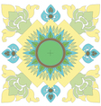 Thai Pattern Graphic vector image