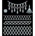 bead adornments vector image