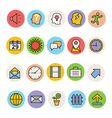 Basic Colored Icons 5 vector image