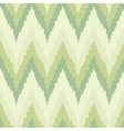 Zigzag pattern in green color Seamless texture vector image