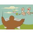 birds songs vector image