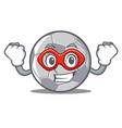 super hero football character cartoon style vector image