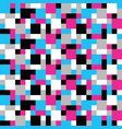 abstract trendy colorful mosaic pattern of vector image