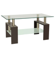 glass table vector image vector image