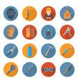 welding industry cartoon icon set vector image