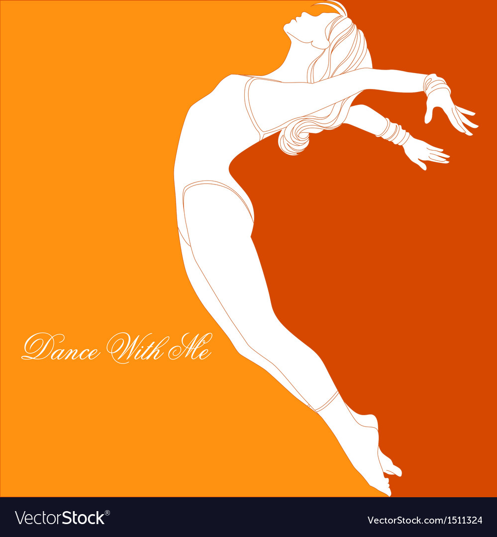 Dance with me vector