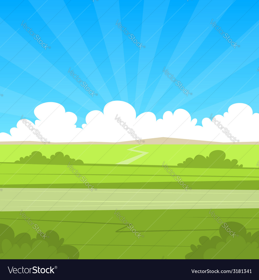 Country road vector