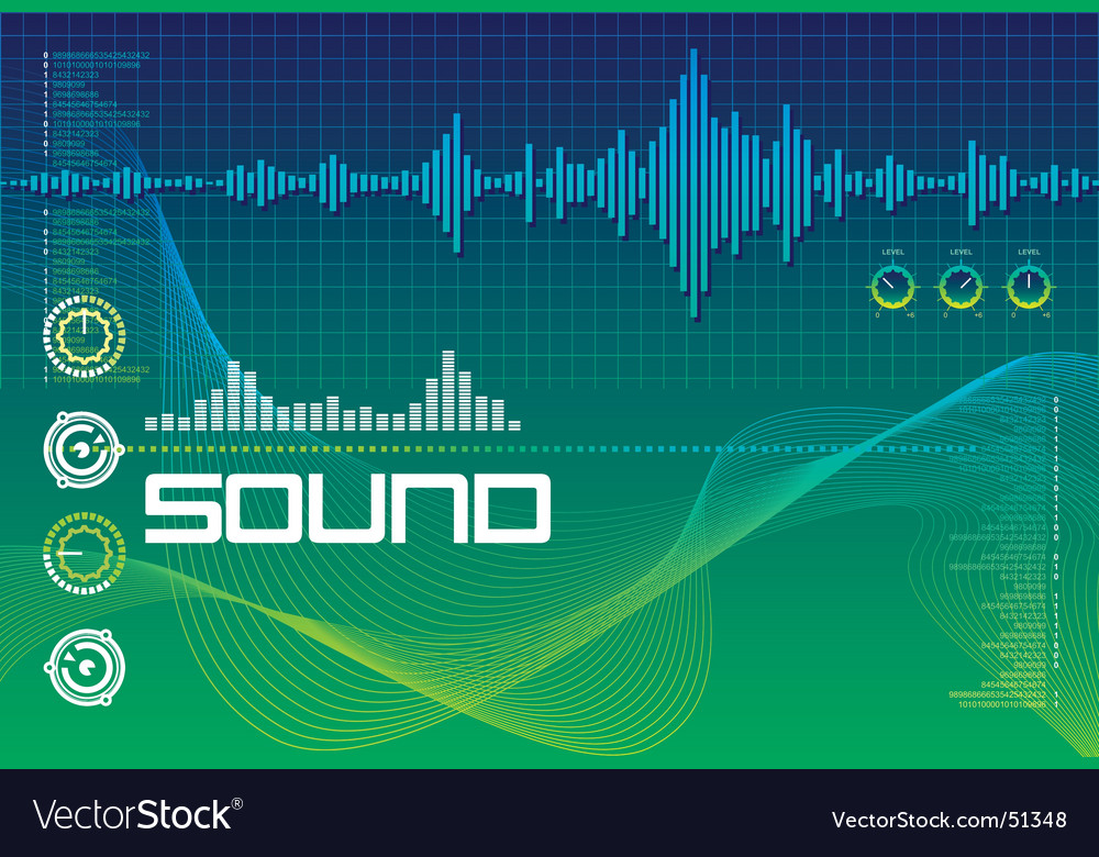 Sound lab vector