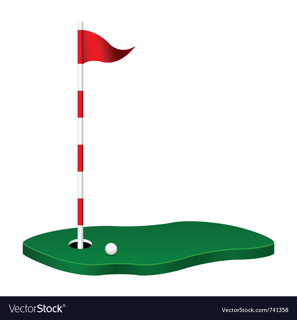 Golf theme vector