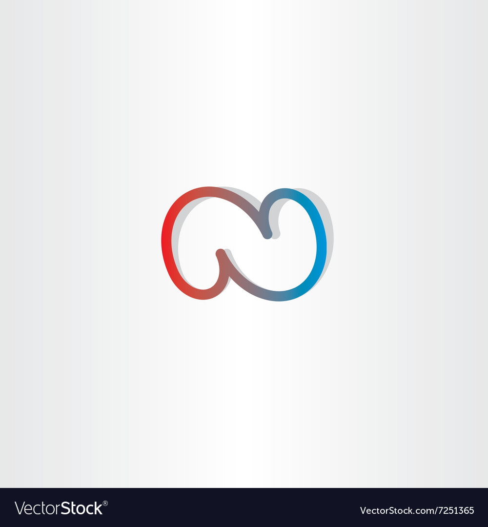 N letter n logo icon vector