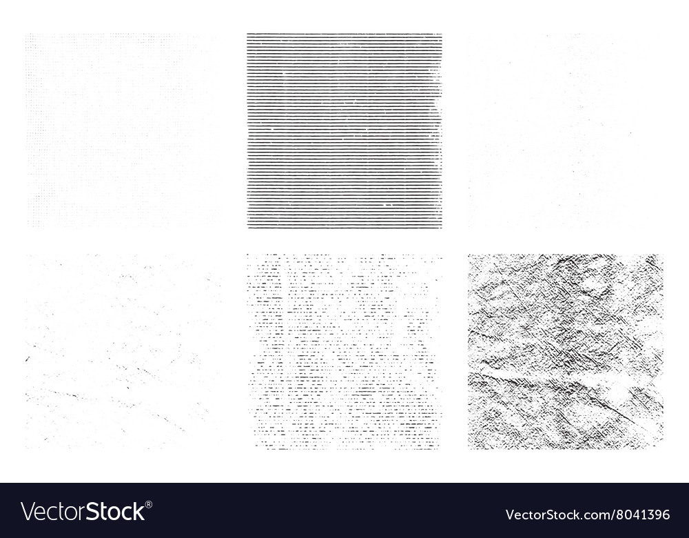 Grunge texture overlay backgrounds vector