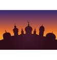 Arabic city vector image
