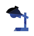 reading-lamp icon Abstract Triangle vector image