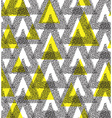 Triangle Abstract Chaotic Pattern vector image