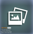 File JPG icon On the blue-green abstract vector image