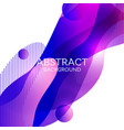 abstract 3d colorful gradient drop liquid vector image