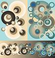 Sett of patterns of circles vector image