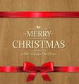 Christmas Wood Texture vector image