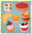 bakery vector image