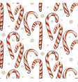 hand drawn abstract christmas seamless vector image