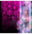 Snowflake Christmas background EPS 10 vector image