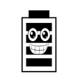 battery power design vector image