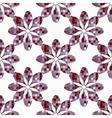 geometric flowers seamless vector image