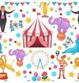 Gypsy Circus Pattern vector image