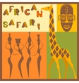 Afrocan ethnic vector image