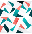 triangles seamless abstract vector image vector image