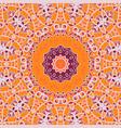 Mandala Print Chakra Circle Seamless Ornamental vector image