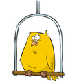 canary in the pole vector image