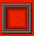 Frames on the wall vector image vector image