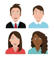 People feelings and emotions vector image