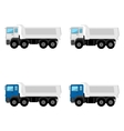Tippers vector image