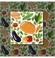 veg pattern vector image