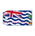 british indian ocean territory vector image