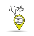 concept e-commerce credit debit card graphic vector image