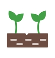 Sprouts vector image
