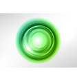 background green light center vector image vector image