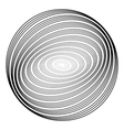Design monochrome ellipse background vector image