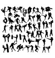 extreme sport and martial art vector image