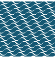 Wavy stripes seamless pattern vector image
