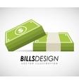 bills money vector image