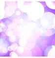 Purple bokeh lights vector image
