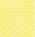 yellow geometric patterns vector image