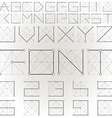 abstract text design vector image vector image