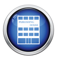 Publishing house icon vector image