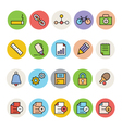 Basic Colored Icons 8 vector image