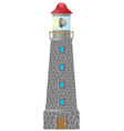 lighthouse 01 vector image